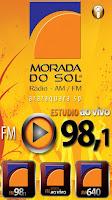 ouvir a Rádio Morada do Sol FM 98,1 ao vivo e online Araraquara