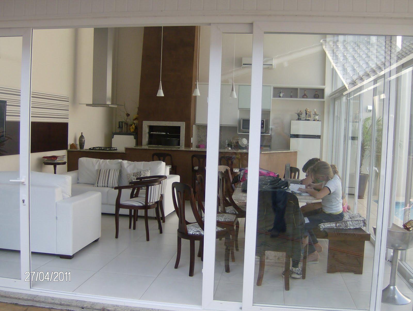 #5B4E40 Marcenaria Berger: cozinha externa/area de lazer 1600x1204 px Projeto De Cozinha Com Area De Lazer #2817 imagens