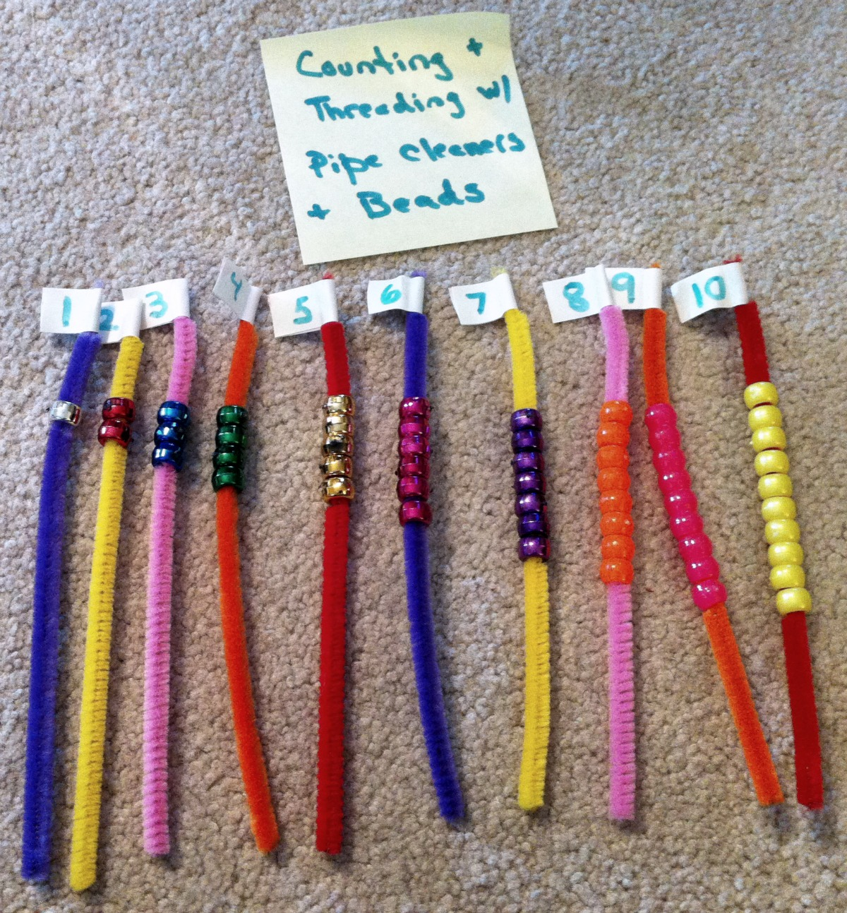 beads pipe cleaner solar system-#31