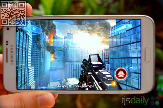 Samsung Galaxy E7 Review Gaming