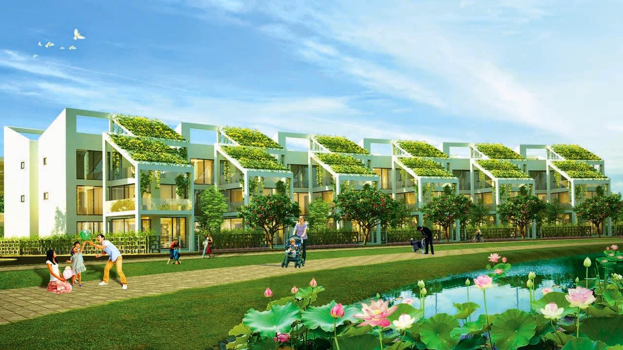 Mẫu biệt thự của dự án làng sen việt nam