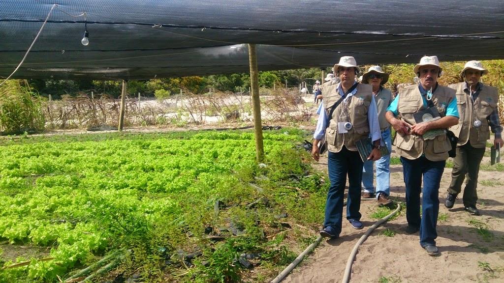 Missão palestina visita unidades de pesquisa do programa Rio Rural