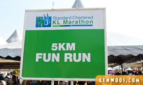 kl marathon 2012 5km fun run