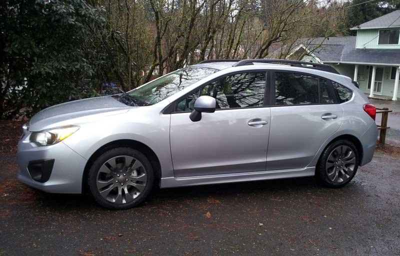 In The Driveway 2012 Subaru Impreza Sport 2 0i Premium