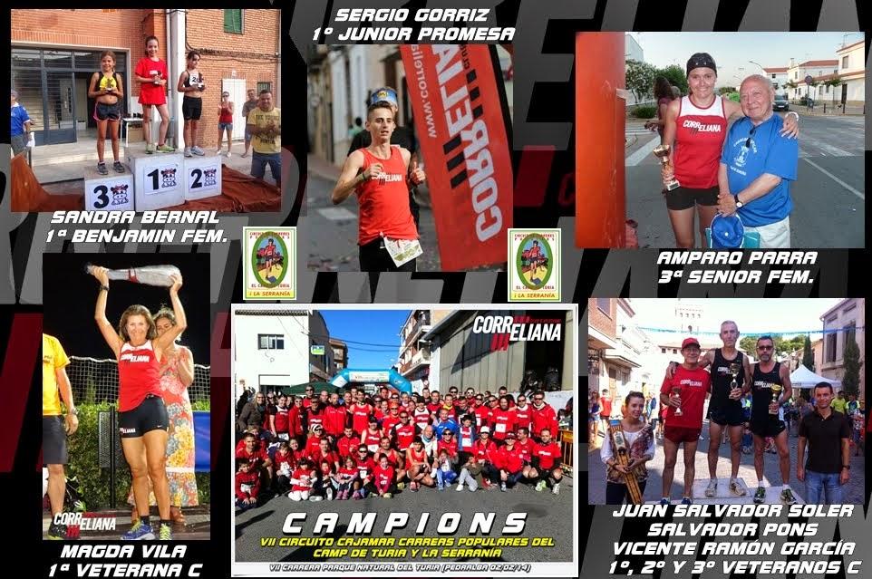 CAMPIONS VII CIRCUIT CAMP DEL TURIA I LA SERRANÍA