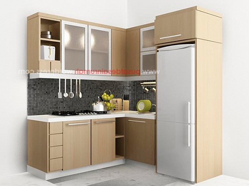 The candra 39 s familie ngisi rumah for Buat kitchen set sendiri