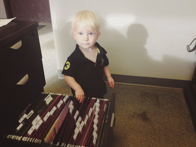 Shield Autobody's youngest worker