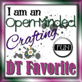 Open-Minded Crafting Fun DT Fav (#25, 28, 33, 35, 41 & 2-2016)