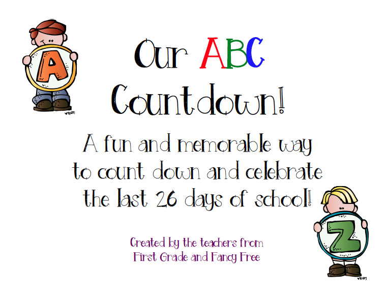 http://www.teacherspayteachers.com/Product/End-of-Year-ABC-Countdown-1233408