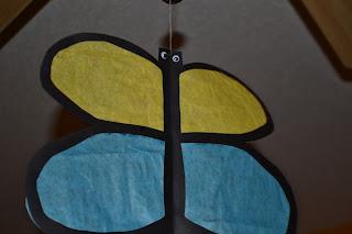 Craft It Friday  Sun Catcher Butterfly