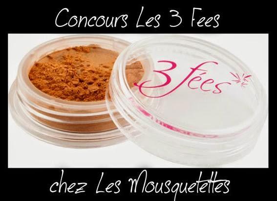 Résultat #concours Les 3 Fées - Les Mousquetettes