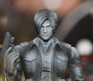 Square Enix Play Arts 2013 Toy Fair Display - Resident Evil 4 Leon figure