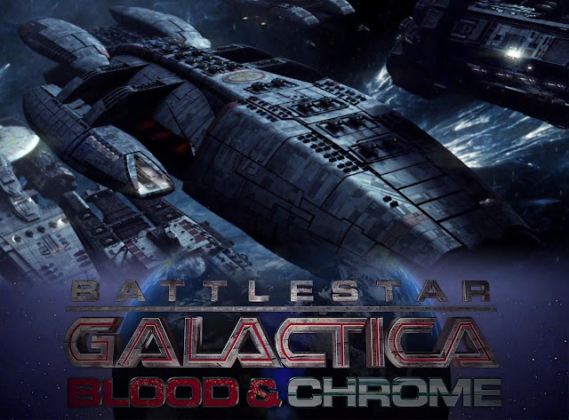 Battlestar Galactica: A Blood and Chrome - Download Torrent Legendado