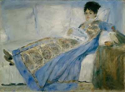 Renoir - Madame Monet,1872.