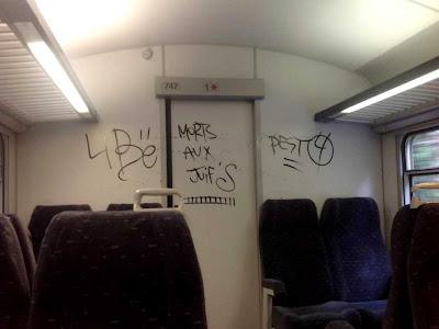 graffiti raciste