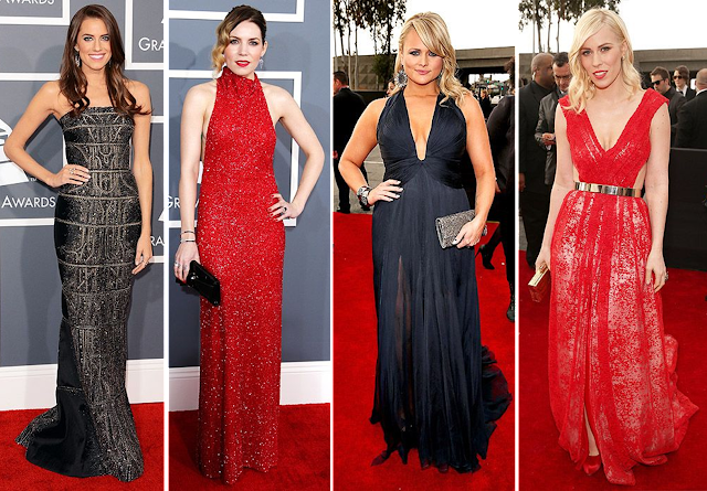 Grammys, red carpet, fashion