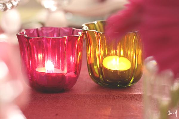 table pâques photophores rose et vert clemence m
