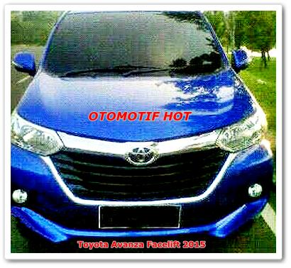 Harga Perkiraan Toyota Avanza Facelift 2015