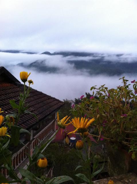 Vietnam Sa Pa view mountain