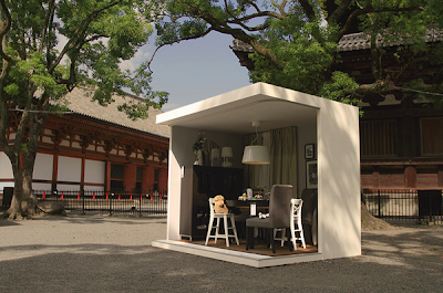Mini casas japonesas doing some marketing - Mini casas prefabricadas ...