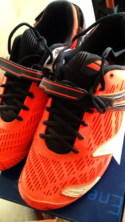 Babolat Propulse 4 orange sz9