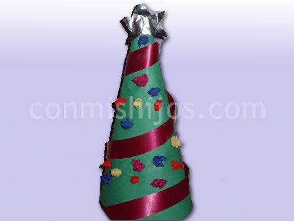 Cosas de reli trabajos navide os - Arbol de navidad para ninos ...