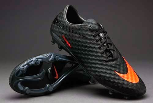 Nike Hypervenom Phantom FG football boots black orange