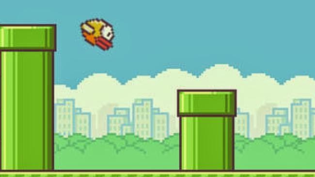 flappy bird macam mario bros terowong