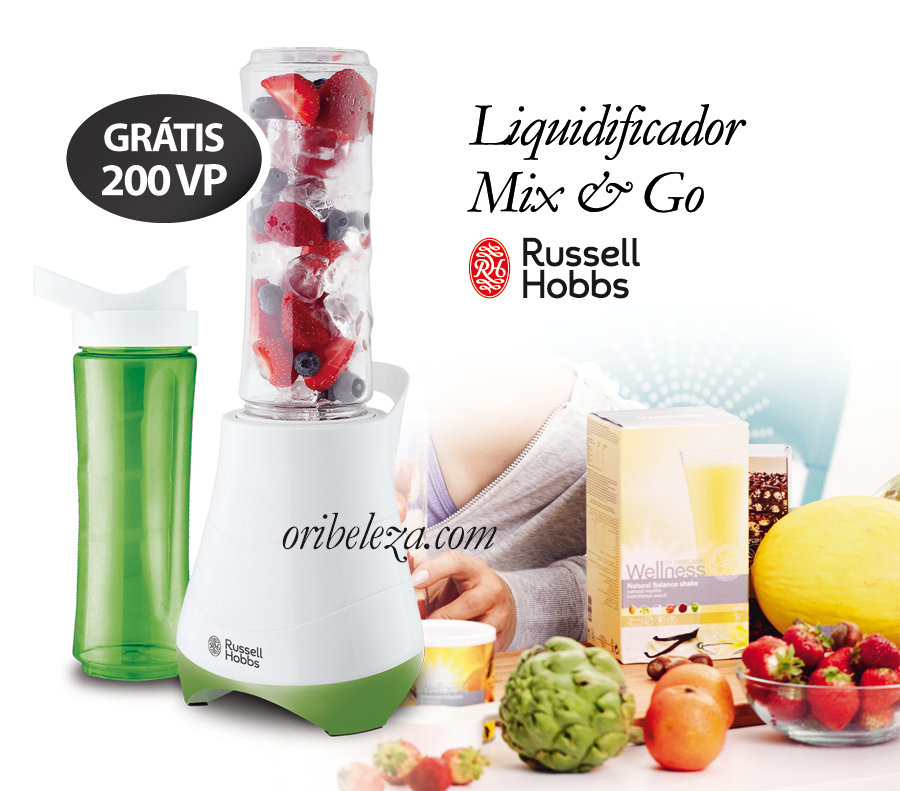 Liquidificador Mix & Go Russell Hobbs