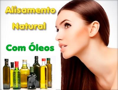 alisamento natural com óleos formula gratis