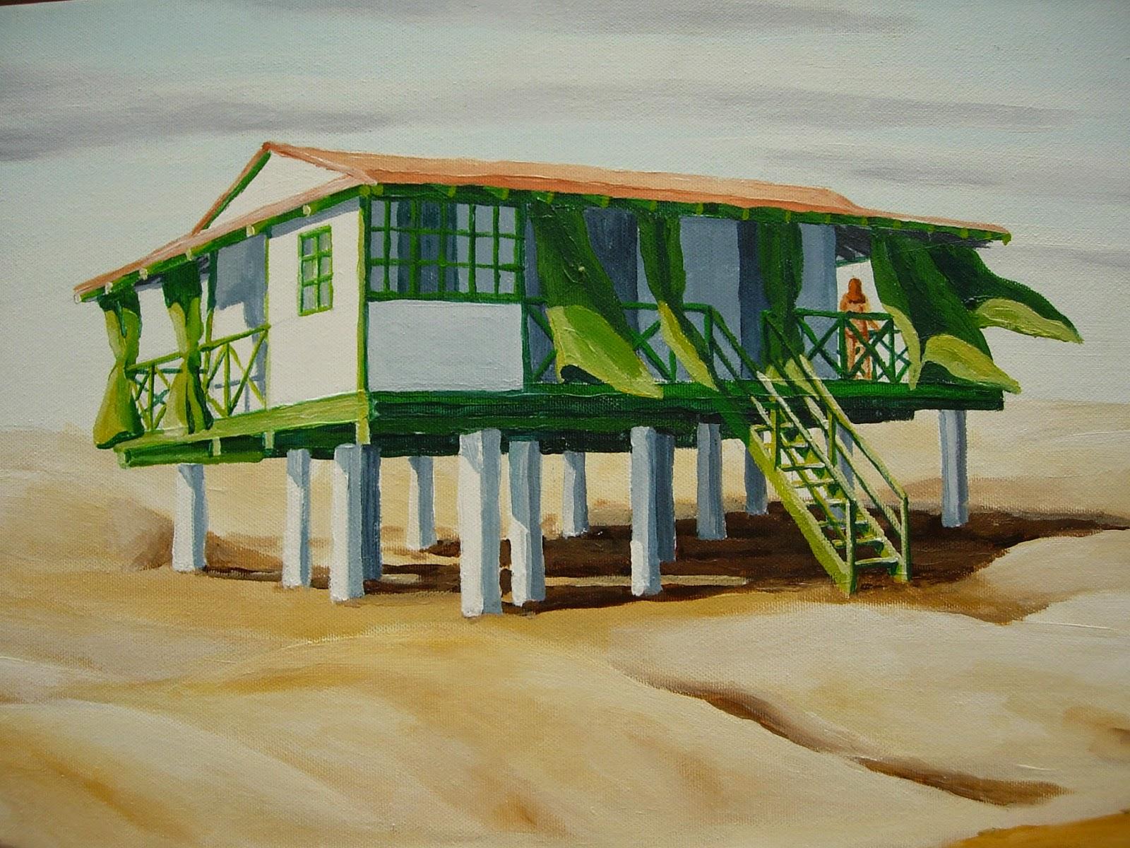 Punta umbr a pinturas dibujos escritos la casa de madera - La casa de los cuadros ...