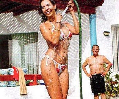 maritere braschi en bikini