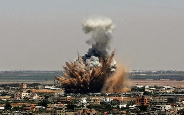 Ramadhan dan Gempuran Rudal di Gaza