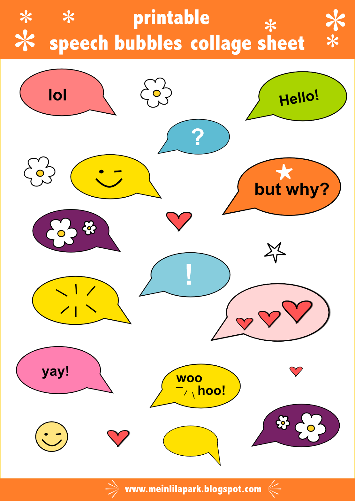 It is a picture of Comprehensive Printable Thought Bubble