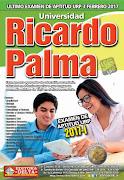 Examen Aptitud 2017-1 Ricardo Palma
