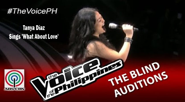 Watch Tanya Diaz Sings 'What About Love' on The Voice of the Philippines Season 2 Blind Audition