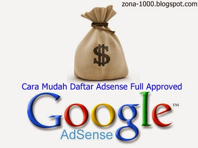 Daftar Adsense Full Approved