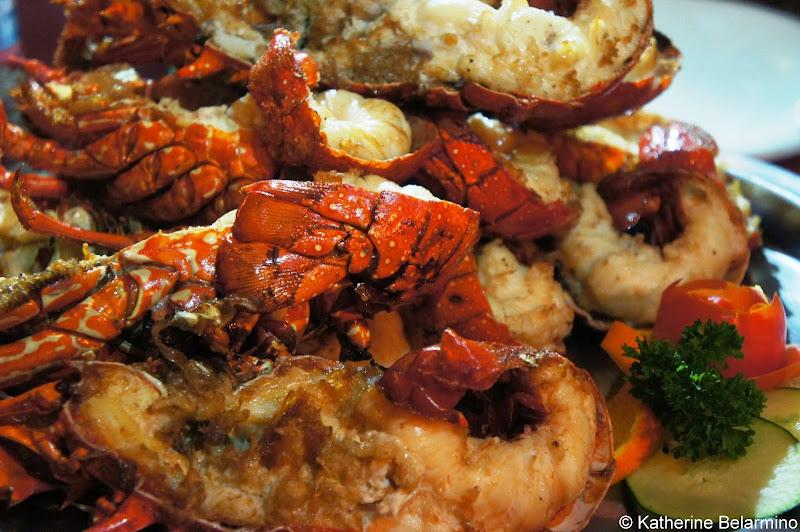 Lobster La Casa Del Pescador Puerto Nuevo Baja California Mexico
