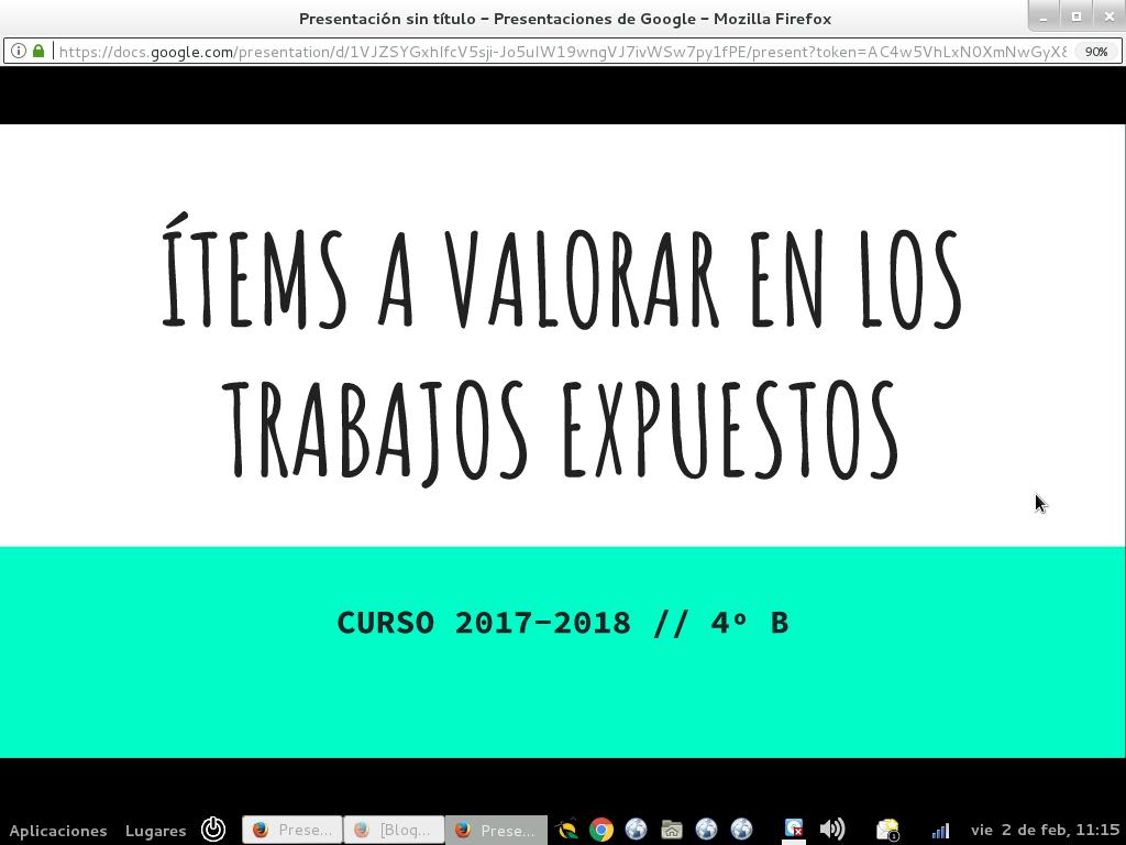 TRABAJOS - ORGANIZACIÓN