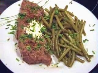 du kannst es steak mit bohnen das low carb rezept. Black Bedroom Furniture Sets. Home Design Ideas