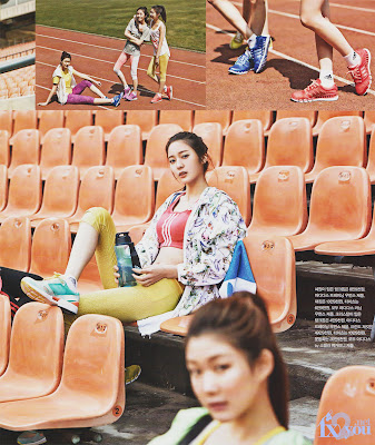 Krystal Jung f(x) Adidas Vogue Girl Magazine May 2013