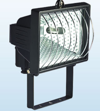 The EHGUARD Enclosed Halogen With Guard grill - flood light