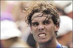 Rafael Nadal sofre cãibra na entrevista coletiva do US Open em Nova York