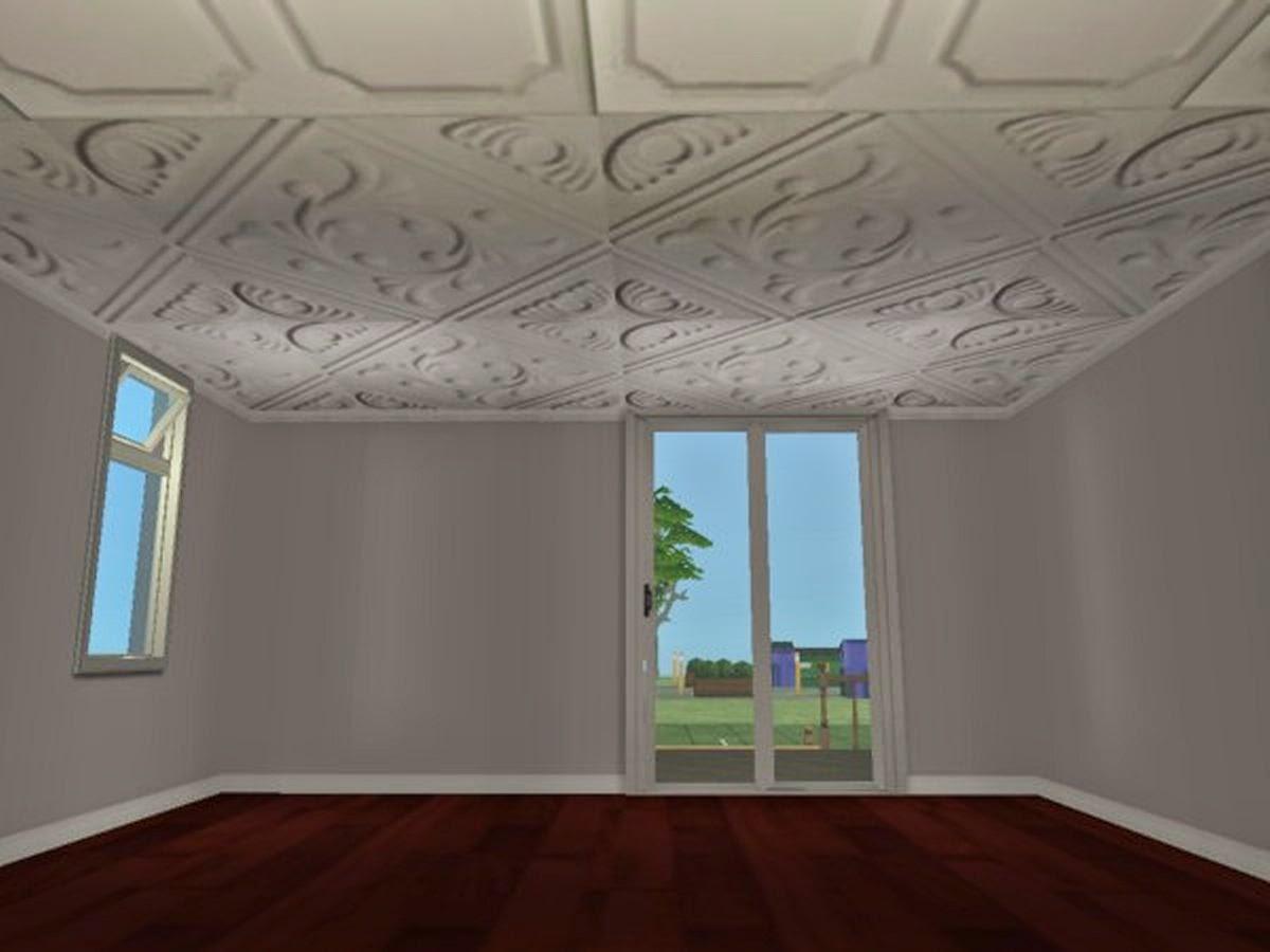 Fancy drop ceiling tiles