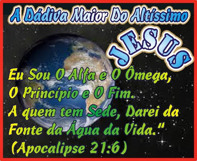 A Fonte de Àgua Viva é Jesus Cristo