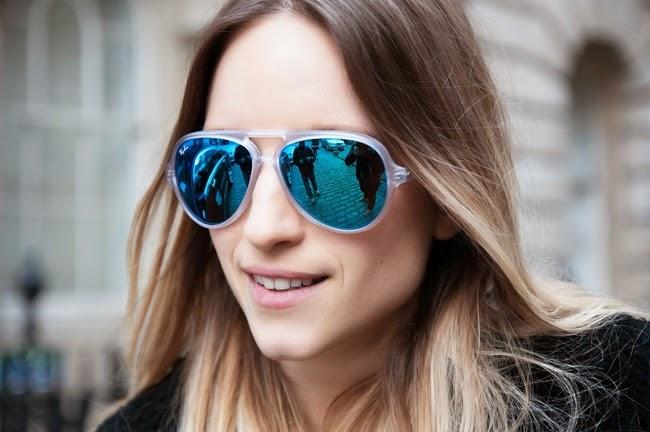 солнечные очки для брюнеток: