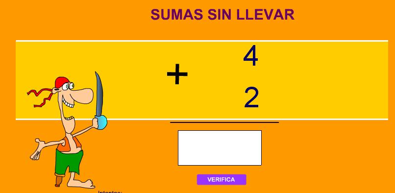 http://www.pequemates.es/pequemates6/sumas_sin_llevar.htm