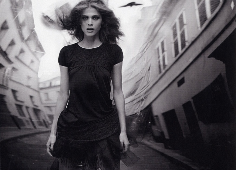 Elisa Sednaoui in Vogue Italia May 2010 (photography: Stephane Sednaoui, styling: Sara Maino) via fashioned by love