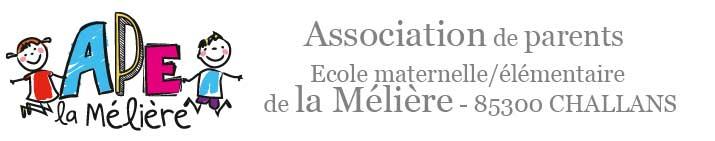 Association des parents d'élèves de l'école La Mélière - 85300 Challans -