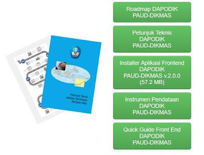 Aplikasi Dapodik PAUD-DIKMAS Versi 2.0.0